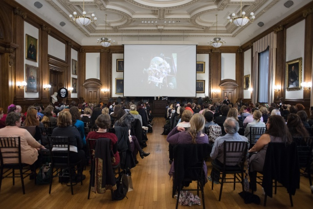 Death Salon: Mütter Museum on October 4-6, 2015. Photo by Scott Troyan.