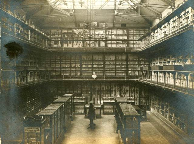 Bart's Pathology Museum in London, host of Death Salon UK